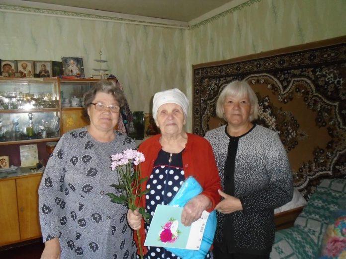 Юбилей у ветерана Великой Отечественной войны