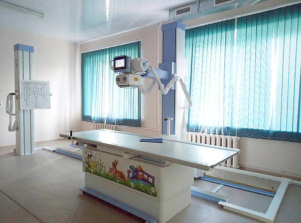 Слободская ЦРБ получила новый рентген комплекс