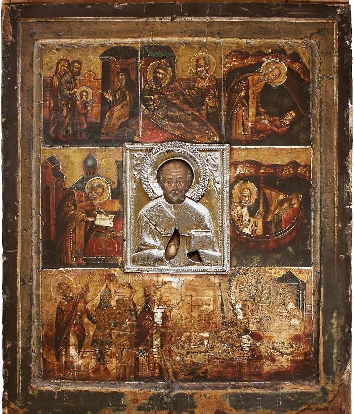 В Екатерининский собор прибывает икона святителя Николая Чудотворца