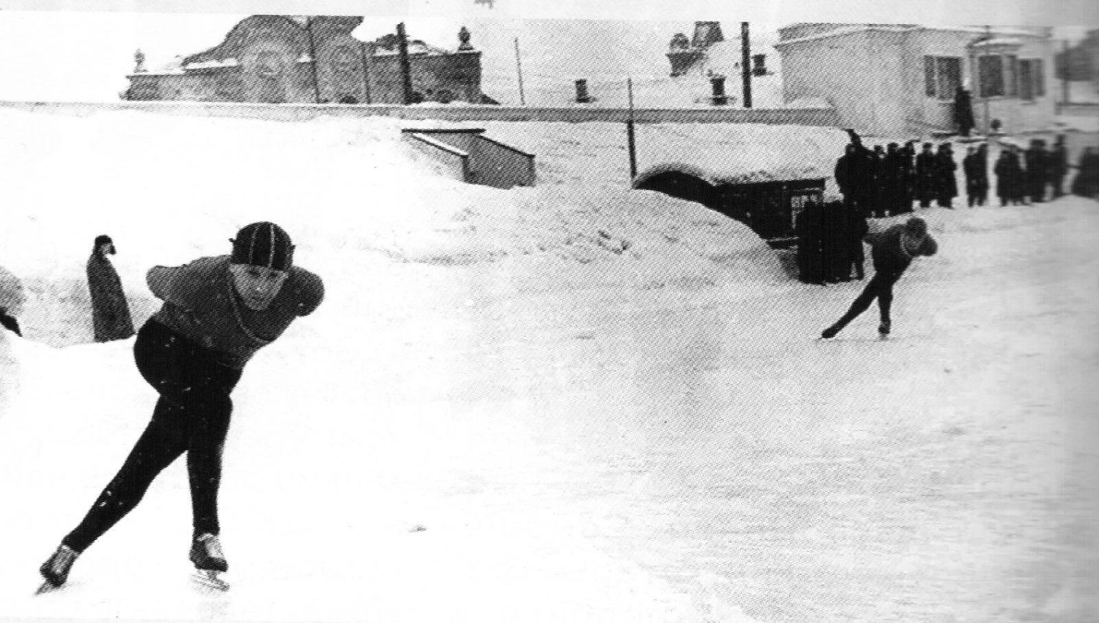 История конькобежного спорта в Слободском