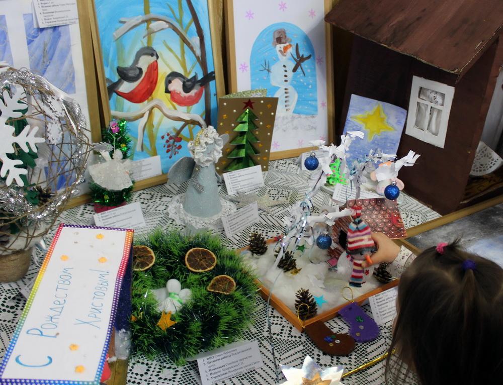 Победители конкурса декоративно-прикладного творчества «Рождество приходит в каждый дом»