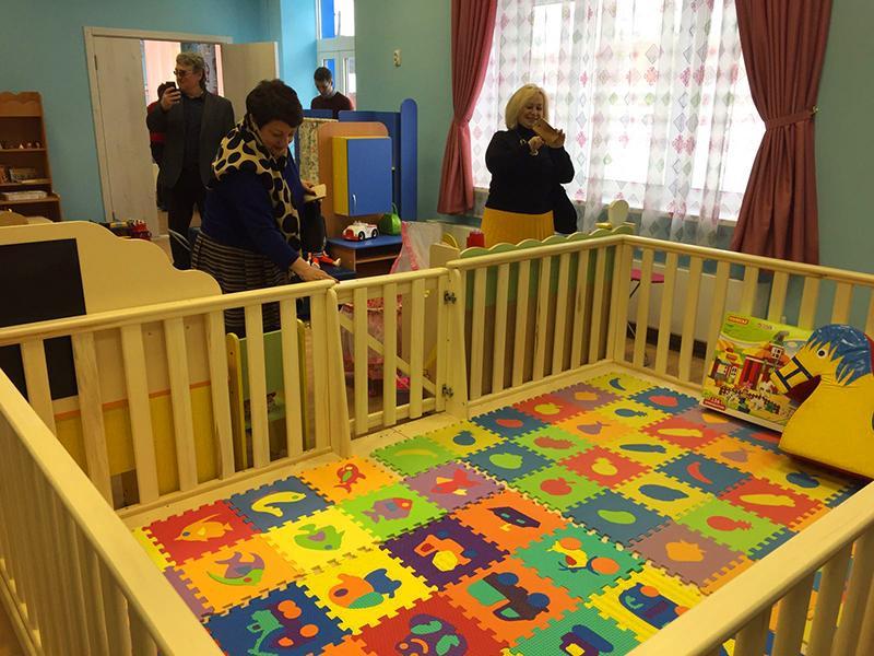 Экскурсия по новому детскому саду