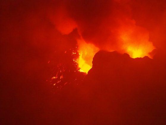 Слобожанка у жерла вулкана