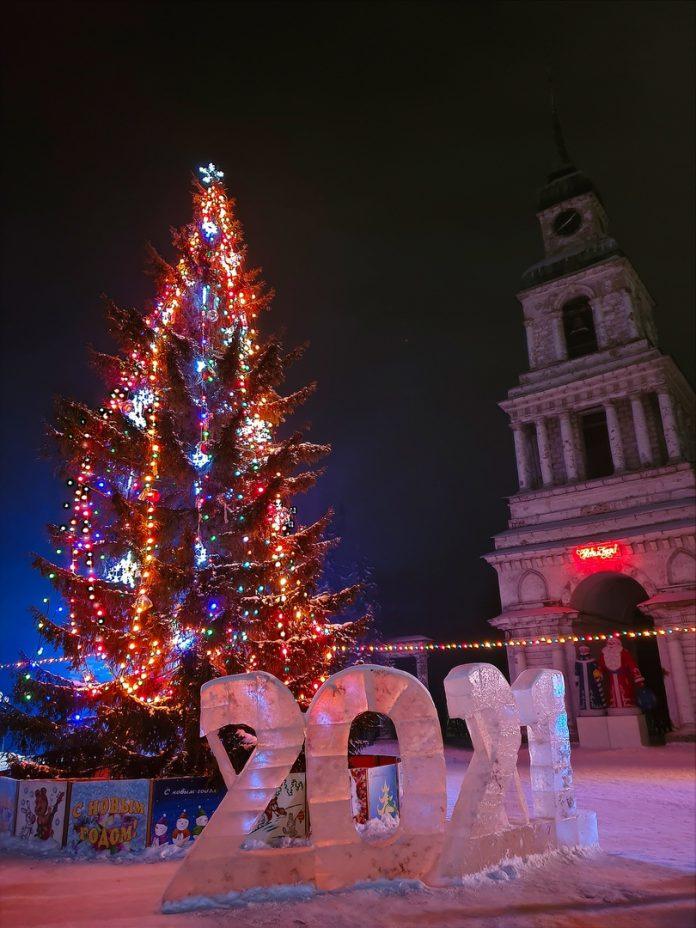Новогоднее поздравление главы города Слободского