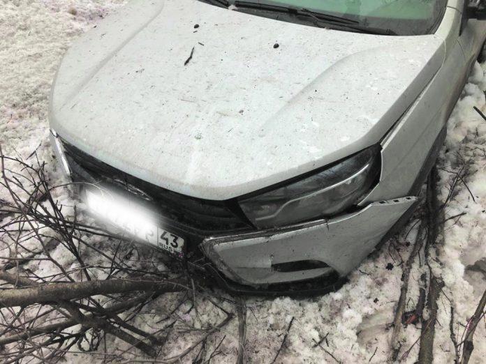 Аварийная ситуация на дорогах Слободского на прошлой неделе