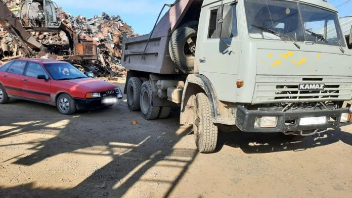 Аварийная ситуация на дорогах Слободского