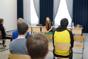 Слободской посетила правозащитница Мария Бутина