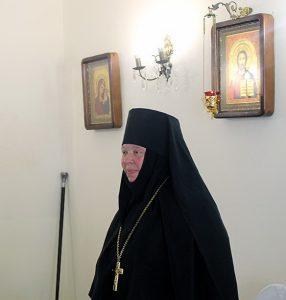 Праздничное богослужение в женском монастыре